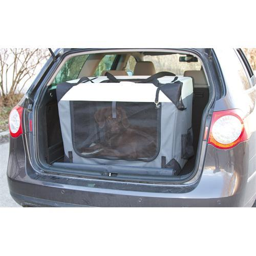 Nylonový transportní box Kerbl Journey - 91 x 63,5 x 63x5 cm Box transportní pro psy, nylon