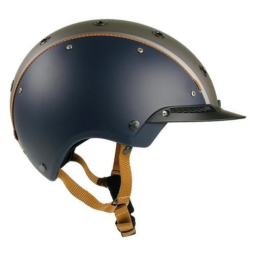 Jezdecká bezpečnostní přilba Casco Champ 3 - modro-šedá, vel. M Přilba jezdecká CASCO Champ 3, modro-šedá