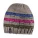 Čepice zimní ELT Aberdeen, béžová s proužky