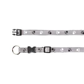 Reflexní obojek pro psy Trixie, šedý - 22 - 35 cm / 1,5 cm