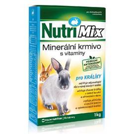 Minerální krmivo pro králíky s vitamíny Nutri Mix Králík, 1 kg