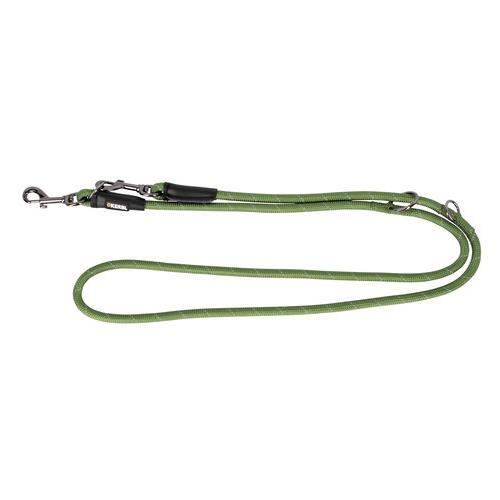Reflexní přepínací vodítko pro psy, 2 m - zelené Reflexní přepínací vodítko pro psy, zelené, 200 cm