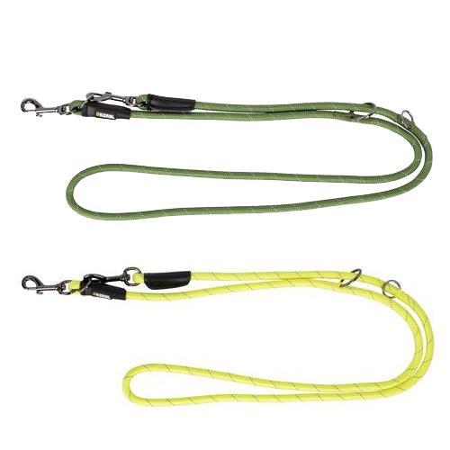 Reflexní přepínací vodítko pro psy, 2 m - zelené Reflexní přepínací vodítko pro psy, 200 cm