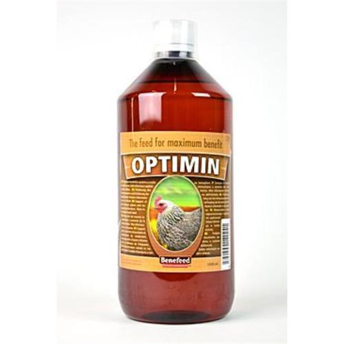 Doplňkové krmivo Optimin D pro nosnice slepice Benefeed, 1 l Doplňkové krmivo Optimin Drůbež, 1 l