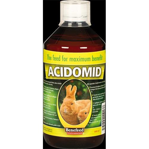 Acidomid K pro králíky Benefeed, 1 l Acidomid K pro králíky, Mikrop, 1 l