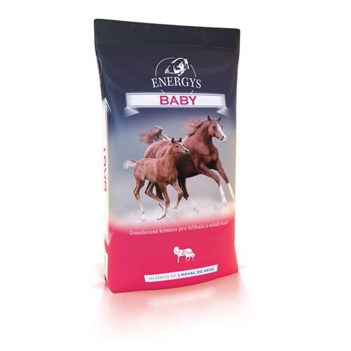 Granule Energys Baby, 25 kg Granule ENERGYS BABY, hříbata-mladé koně, 25 kg