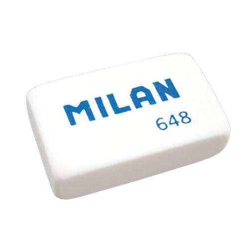 Guma stěrací na tuhu MILAN 648, bílá Guma stěrací na tuhu MILAN 648, bílá