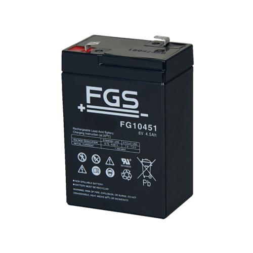 Náhradní akumulátor pro halogenovou LED svítilnu 44758 Svítilna - náhradní akumulátor gelový 6V/4Ah