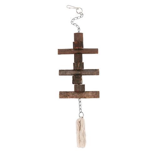 Dřevěná sestava pro ptáky, 40 cm Dřevěná sestava pro ptáky, 40 cm