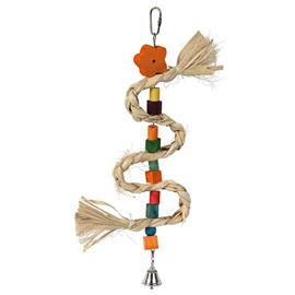 Závěsný provaz pro ptáky, 36 cm