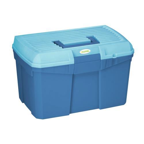 Box na čištění s vyjímatelnou přihrádkou SIENA - tmavo-světle modrý Box na čištění s vyjímatelnou přihrádkou SIENA, tmavo-světlé modrý