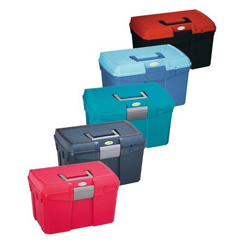 Box na čištění s vyjímatelnou přihrádkou SIENA - tmavo-světle modrý Box na čištění s vyjímatelnou přihrádkou SIENA