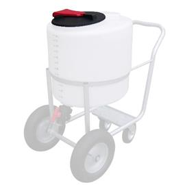 Plastové víko pro vozík na mléko, průměr 350 mm