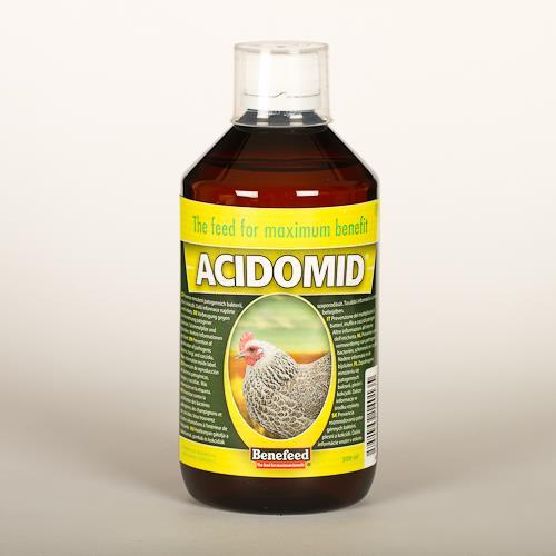Acidomid D pro drůbež Benefeed - 500 ml Acidomid D pro drůbež Benefeed, 500 ml