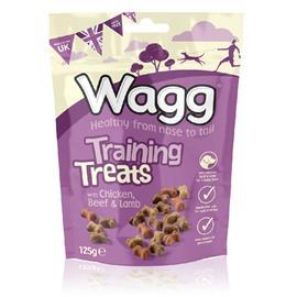 Pamlsek pro psy Wagg kostičky, 125 g