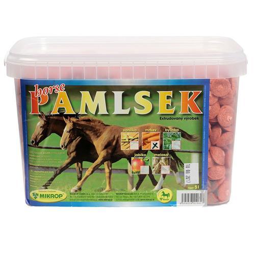 Pamlsky pro koně Mikrop, 2,5 kg - mrkvové Pamlsky pro koně MIKROP, mrkvové, 2,5 kg