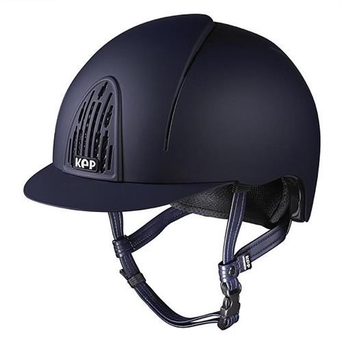 Jezdecká přilba KEP Smart, černá/modrá - modrá, vel. L Přilba bezpeč. KEP Smart, modrá, vel. L