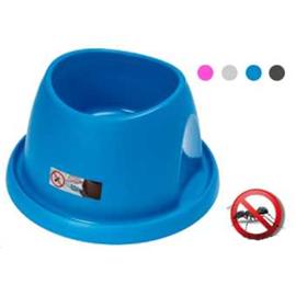 Plastová hluboká miska proti mravencům vhodná i pro kokry, mix barev - průměr 29,5 cm, výška 15