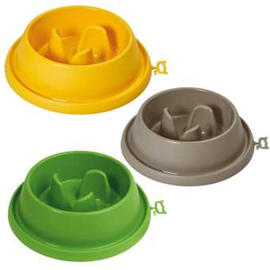 Plastová protihltací miska Adagio, mix barev - Velká - průměr 31, 5 cm