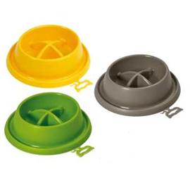 Plastová protihltací miska Adagio, mix barev - Malá - průměr 21,5 cm
