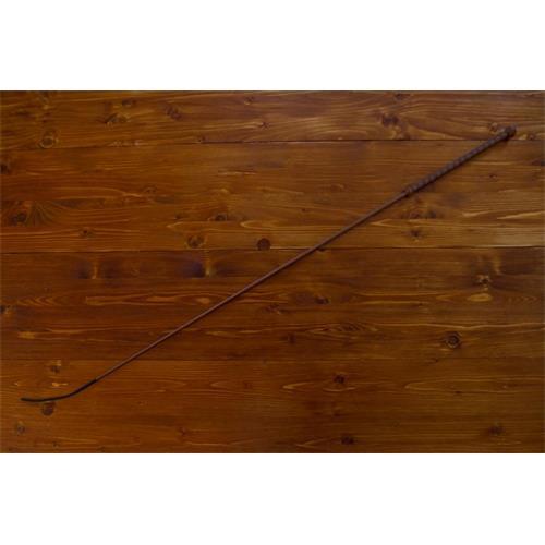 Drezurní bič Small Paul, ručně pletený - hnědo-hnědý, 120 cm Bič Small Paul drezurní, hnědo-hnědý, 120 cm