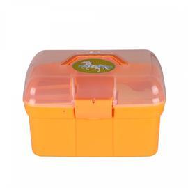 Dětský box na čištění QHP, s výbavou, 9 ks - žlutý