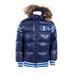 Dětská zimní bunda Horze, modrá a růžová - vel. 146/152