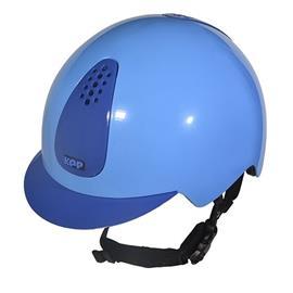 Dětská bezpečnostní přilba KEP Keppy - světle-tmavě modrá