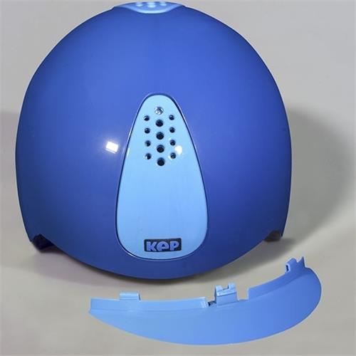 Dětská bezpečnostní přilba KEP Keppy - tmavě-světle modrá Přilba bez. KEP Keppy, dětská, tmavě-světle modrá