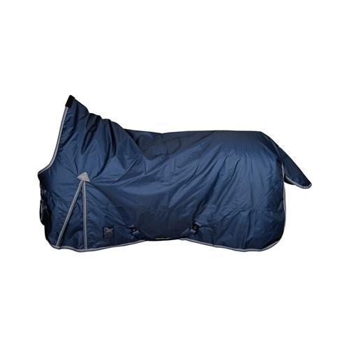2431cd2b1 Nepromokavá deka Harrys Horse s prodloužením na krk , 200gr, modrá - vel.  115