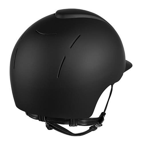 Jezdecká přilba KEP Smart, černá/modrá - černá, vel. L Přilba bezpeč. KEP Smart, černá, vel. L