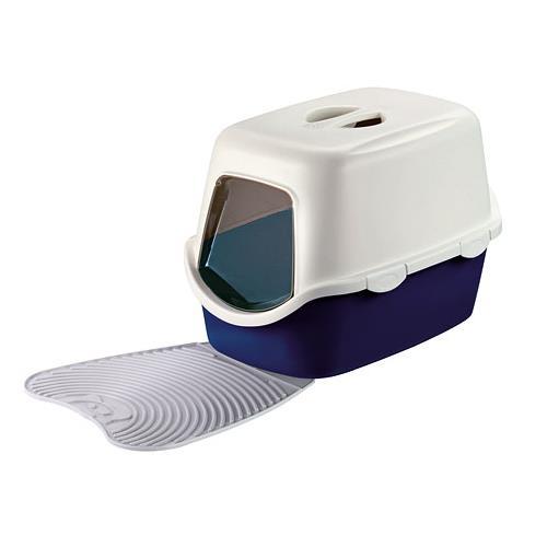 Gumová předložka před kočičí záchod, 39 x 35 cm Gumová předložka před kočičí toaletu, 39 x 35 cm