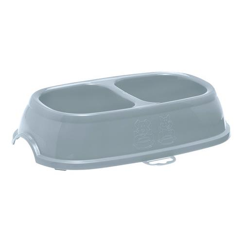 Miska plastová, dělená - 2 x 400 ml Miska plastová, dělená, 2 x 400 ml