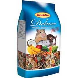 Krmivo pro malé hlodavce AVICENTRA Deluxe, 1 kg