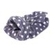 Pelíšek pro psa nebo kočku Tulipytlík fialový s puntíky, 35 x 50 cm