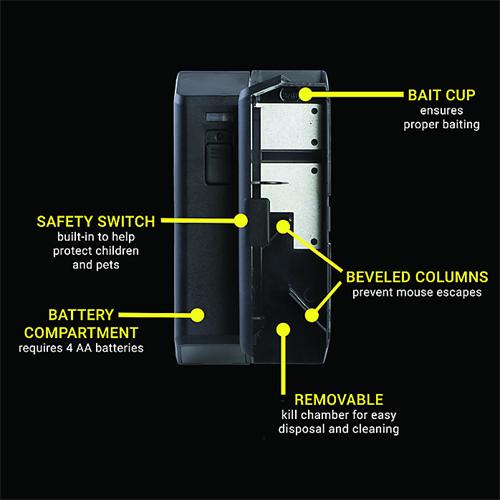 Elektronická past na myši VICTOR-M250S Elektronická past na myši VICTOR-M250S