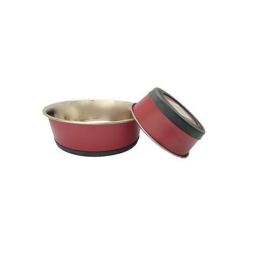 Nerezová miska matná Lavor, mix barev - 1 600 ml - červená Miska nerezová matná Lavor, mix barev, 1600 ml