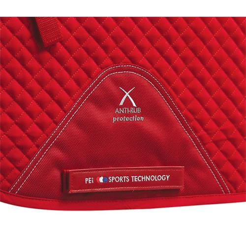 Podsedlová dečka Premier Cotton - červená, vel. Full Dečka podsedl. Premier Cotton, červená