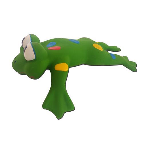 Gumová hračka pro psy, mix druhů 06 - Žába
