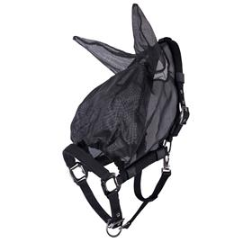 Maska-ohlávka proti hmyzu QHP, combi, černá