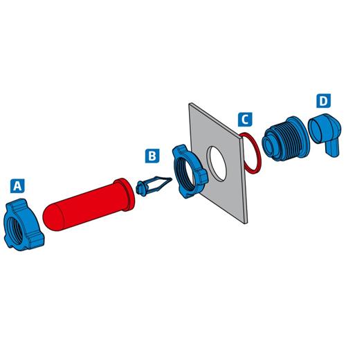 Náhradní ventil GEWA Super Clean, snadno čistitelný Náhradní ventil GEWA Super Clean, snadno čistitelný