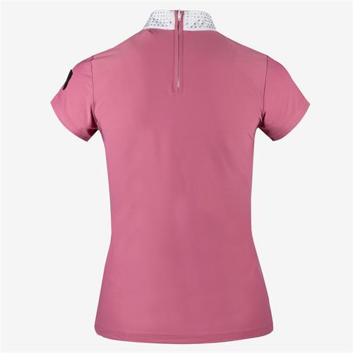 Dámské závodní triko Horze Mirielle - malinové, vel. 36 Triko dámské Horze Mirielle, malinové, vel. 36