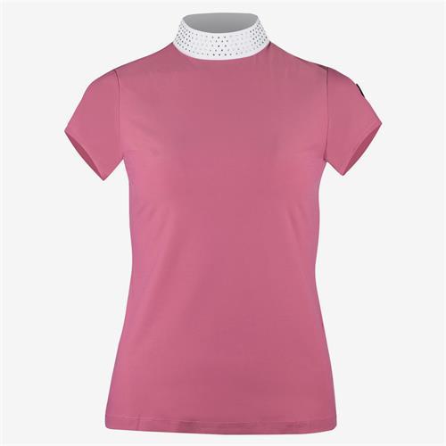 Dámské závodní triko Horze Mirielle - malinové, vel. 38 Triko dámské Horze Mirielle, malinové, vel. 38