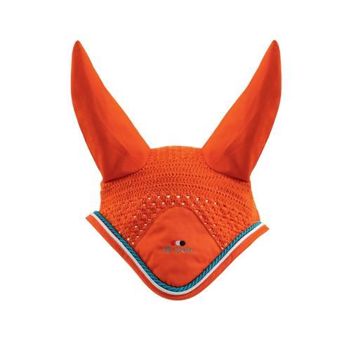 Čabraka na uši Premier Equine - oranžová, vel.full Čabraka Premier Equine, oranžová
