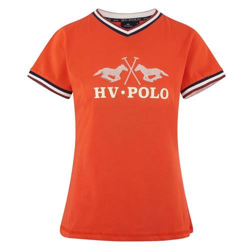 Dámské triko HV Polo Maria 2019 - oranžové, vel. S Triko HV Polo Maria, hibiscus, vel. S