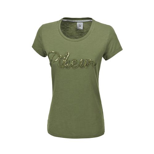 Dámské triko Pikeur Wanda 2019 - olivové, vel. 36 Triko dámské Pikeur Wanda, olivové, vel. 36