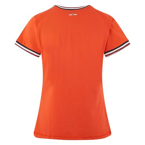 Dámské triko HV Polo Maria 2019 - oranžové, vel. L Triko HV Polo Maria, hibiscus, vel. L