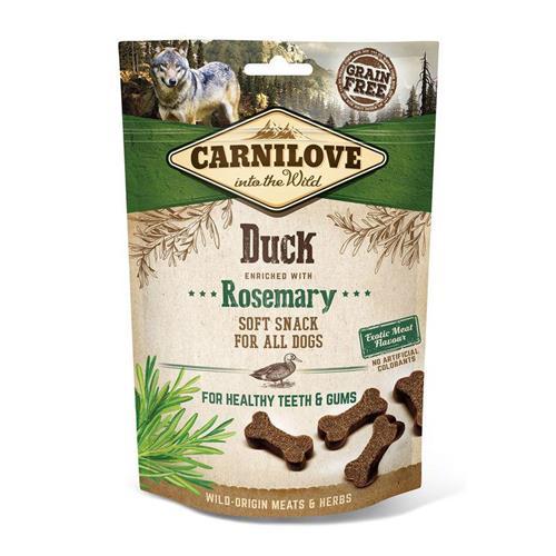 Pamlsek pro psy Carnilove Duck and Rosemary, 200 g Pamlsek pro psy Carnilove kachna a rozmarýn 200 g