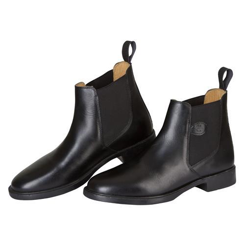 Kožená jezdecká perka Covalliero Classic, černá / hnědá - černá, vel. 35 Jezdecká kožená perka Covalliero Classic, černá, vel. 35