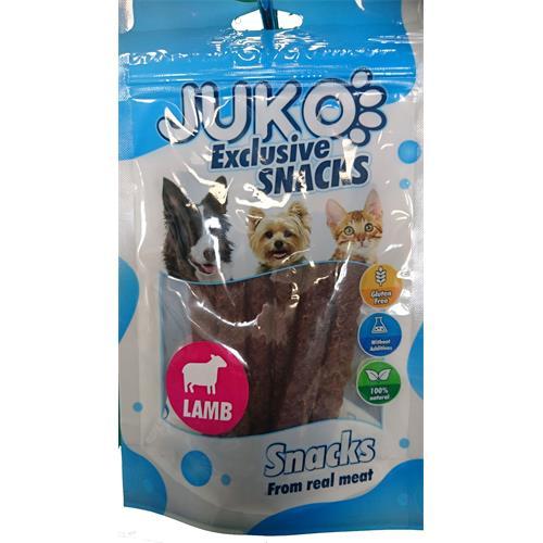 Pamlsek pro psy - jehněčí tyčinky, 70 g Pamlsek pro psy - jehněčí tyčinky, 70 g
